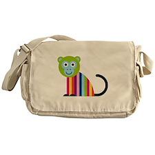 Happy Monkey Messenger Bag
