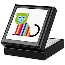 Happy Monkey Keepsake Box