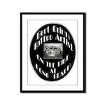 Bert Grimm Tattoo Artist Framed Panel Print