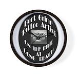 Bert Grimm Tattoo Artist Wall Clock