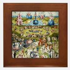 Bosch The Garden of Delights Framed Tile