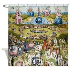 Bosch The Garden of Delights Shower Curtain