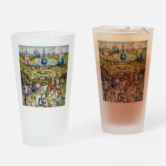 Bosch The Garden of Delights Drinking Glass