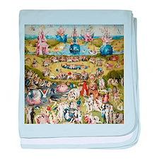 Bosch The Garden of Delights baby blanket