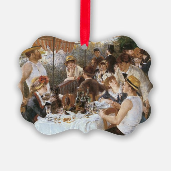 Luncheon of the Boating Party Ornament