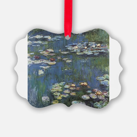 Waterlilies Ornament