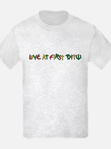 LoveAtFirstBite-BeardedClam: T-Shirt