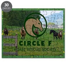 Circle F logo and herd Puzzle