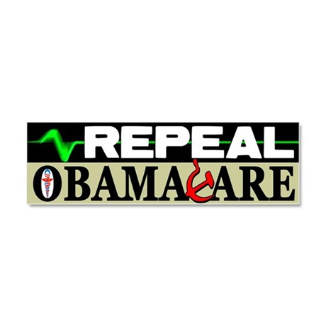 """""""Repeal Obamacare!"""" Car Magnet 10 x 3"""
