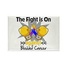 Fight is On Bladder Cancer Rectangle Magnet