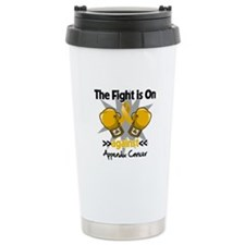 Fight is On Appendix Cancer Thermos Mug
