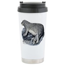 Hawaiian Monk Seal Travel Coffee Mug