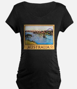 Australia Travel Poster 10 T-Shirt