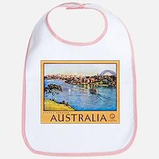 Australia Travel Poster 10 Bib