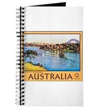 Australia Travel Poster 10 Journal