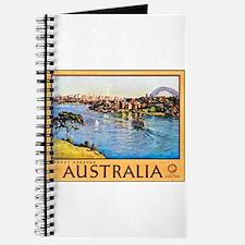 Australia Travel Poster 10 Journal