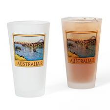 Australia Travel Poster 10 Drinking Glass