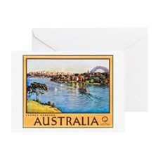 Australia Travel Poster 10 Greeting Card