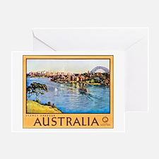 Australia Travel Poster 10 Greeting Card