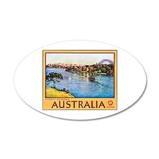 Australia Travel Poster 10 Wall Decal