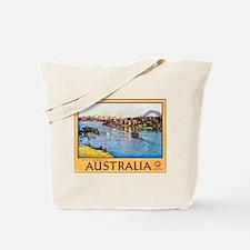 Australia Travel Poster 10 Tote Bag