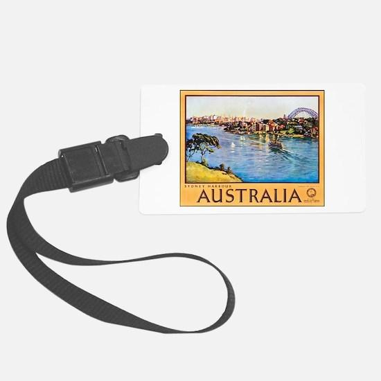Australia Travel Poster 10 Luggage Tag