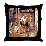 DOG TRAINING Throw Pillow