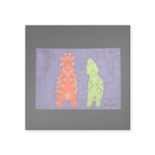 "Zuni Maidens Square Sticker 3"" x 3"""