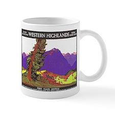 Scotland Travel Poster 1 Mug