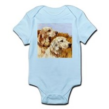 TWO ENGLISH SETTERS Infant Bodysuit