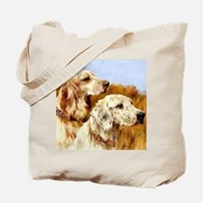TWO ENGLISH SETTERS Tote Bag