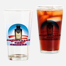 Obamacare for Seniors Drinking Glass