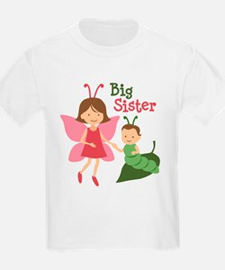 Big Sister - Butterfly T-Shirt