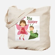 Big Sister - Butterfly Tote Bag