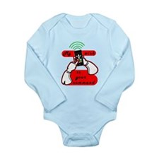 My Wish Long Sleeve Infant Bodysuit