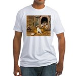 THE PUPPIES Fitted T-Shirt
