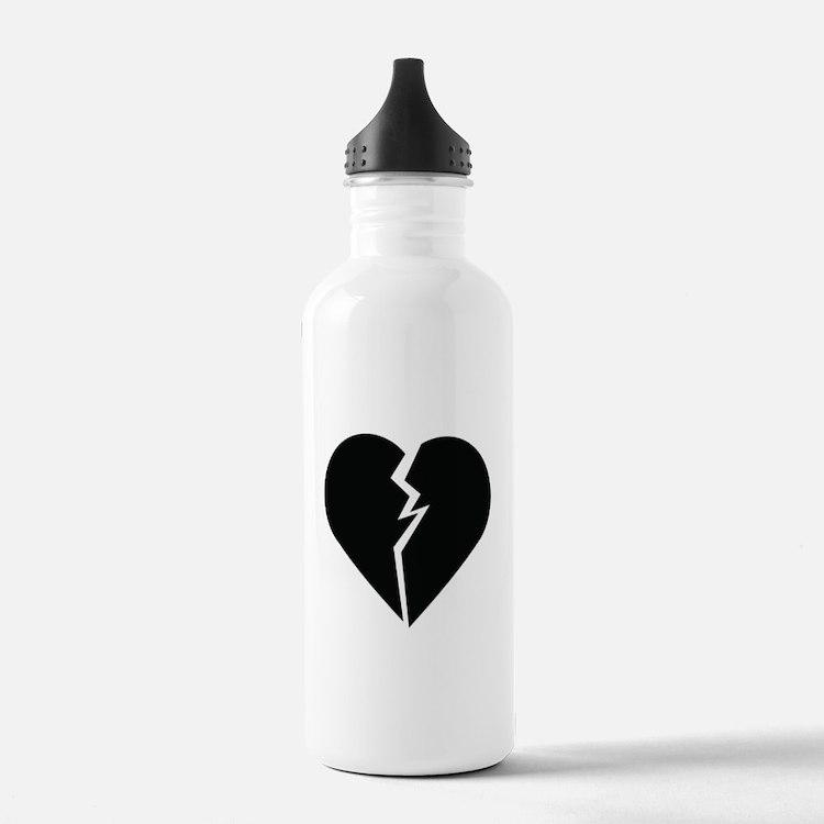 Broken Heart Water Bottle