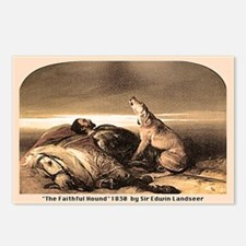 THE FAITHFUL HOUND Postcards (Package of 8)