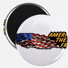 """America the Free 2.25"""" Magnet (100 pack)"""