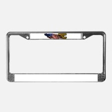 America the Free License Plate Frame