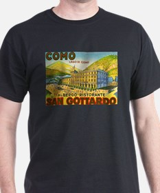 Italy Travel Poster 1 T-Shirt