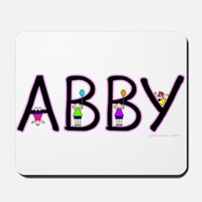 abby.png Mousepad