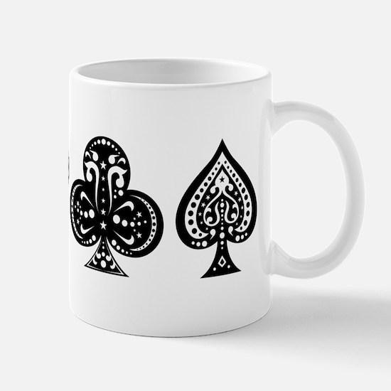 Card Symbols Mug