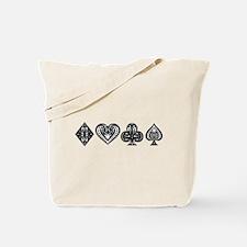 Card Symbols Tote Bag