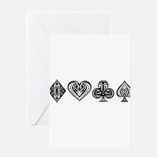 Card Symbols Greeting Card