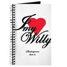 I <3 My Willy Journal
