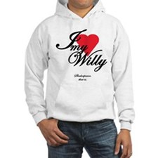 I <3 My Willy Hoodie