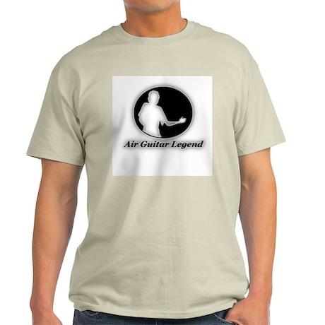 """Air Guitar Legend"" Ash Grey T-Shirt"