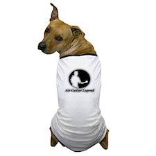 """""""Air Guitar Legend"""" Dog T-Shirt"""