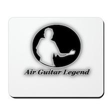 """Air Guitar Legend"" Mousepad"